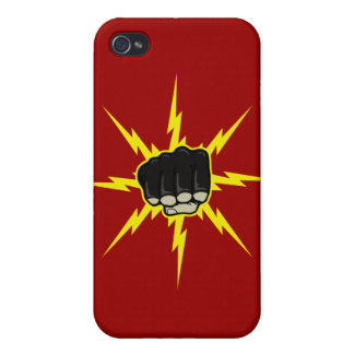 Lightning fist iPhone 4 covers