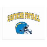 Lightning Football Postcards