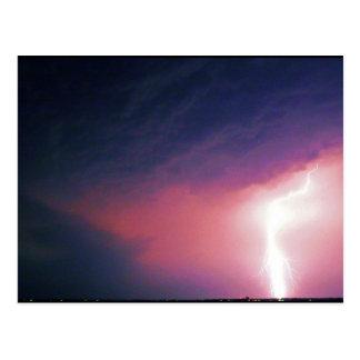 Lightning in Nebraska Postcard