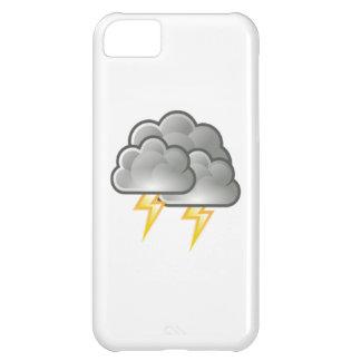 Lightning in Thunderstorm iPhone 5C Cases