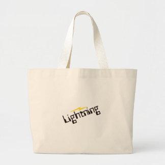 Lightning Large Tote Bag