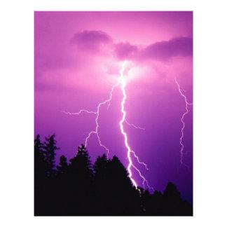 lightning letterhead