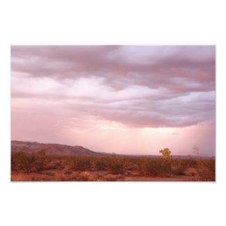 Lightning Near Wagon Wheel Photograph