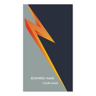 LIGHTNING_NZ BUSINESS CARD DARKGREY