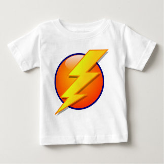 lightning orb energy icon vector baby T-Shirt