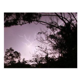Lightning over Lawnton Postcard