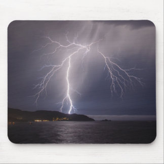 Lightning over Pacifica Mouse Pad