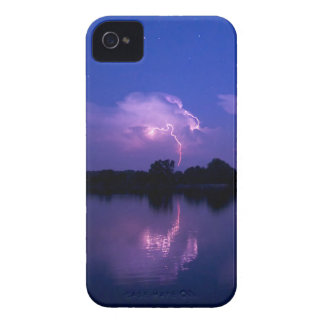 Lightning Over The Chesapeake iPhone 4 Cases