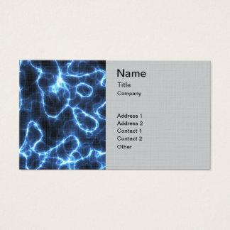 Lightning Pattern Business Card
