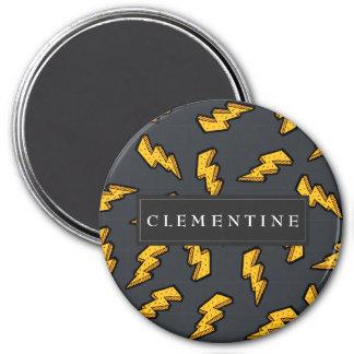 Lightning Pattern Magnet