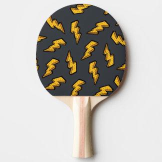 Lightning Pattern Ping Pong Paddle
