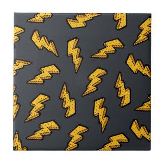 Lightning Pattern Tile