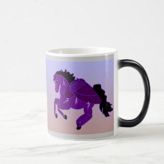 Lightning Pegasus Horse Morphing Mug