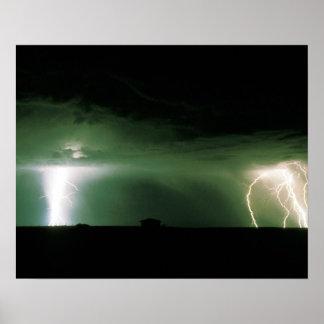 Lightning. Poster