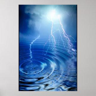 Lightning Print