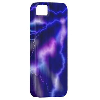 Lightning Purple Galaxy iPhone 5 Case