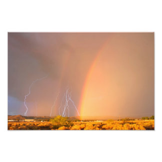 Lightning Rainbow Photo Art