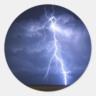 Lightning Round Sticker