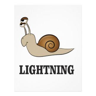 lightning snail letterhead