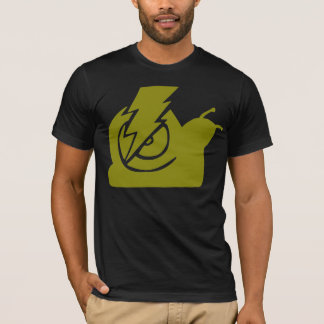 Lightning Snails Logo Yellow T-Shirt
