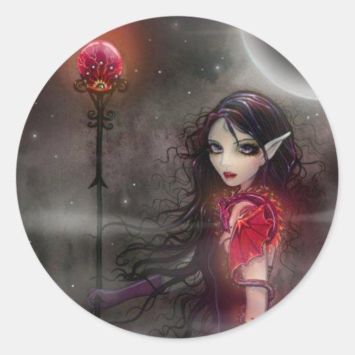 Lightning Stone Fairy Dragon Stickers