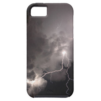 Lightning storm clouds iphone 5 Case