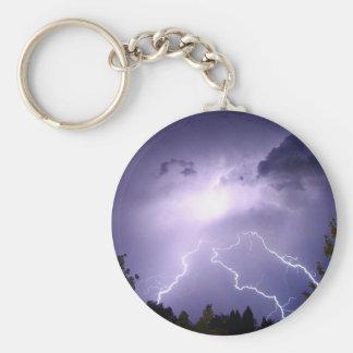 Lightning Storm Keychain