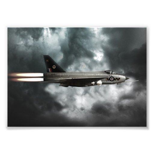Lightning Storm Art Photo
