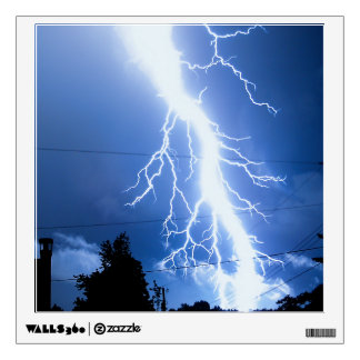 Lightning Strike 2 Wall Sticker