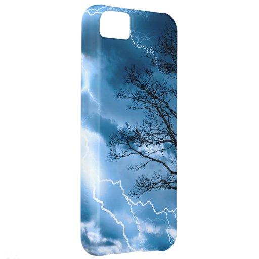 Lightning Strike Cover For iPhone 5C