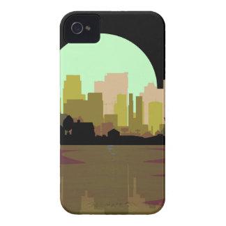 Lightning Strike City iPhone 4 Case-Mate Case