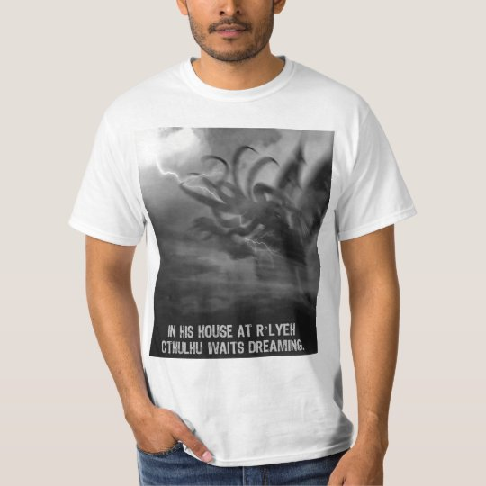 Lightning Strike Cthulhu T-Shirt