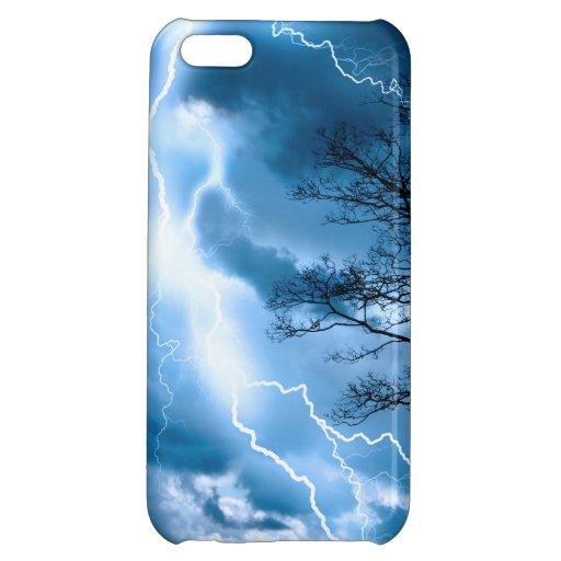 Lightning Strike iPhone 5C Cover