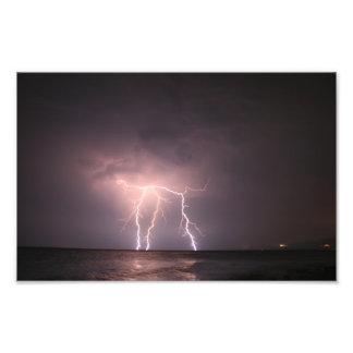 Lightning Strikes Art Photo