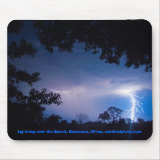 Lightning Strikes Twice Mouse Pad