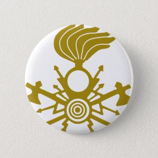 lightning-symbol 2 inch round button