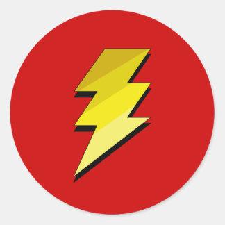 Lightning Thunder Bolt Stickers