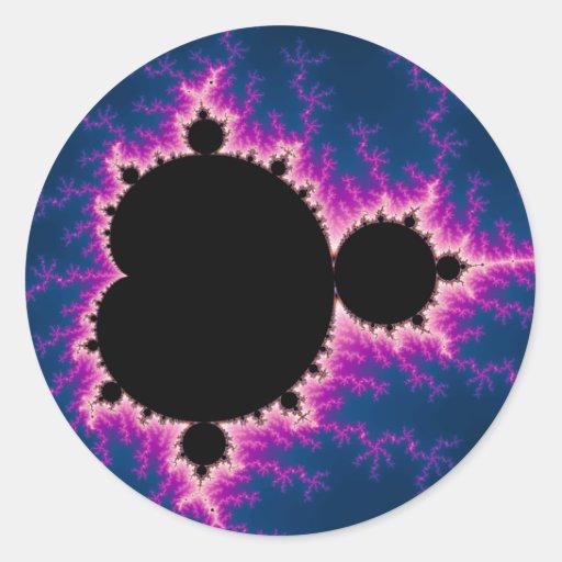 Lightningbrot - Fractal Round Sticker