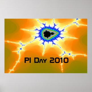 lightningroach, PI Day 2010 Poster