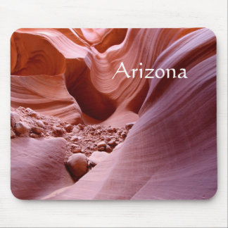 Lights and rocks in the canyon, Arizona Mouse Pad