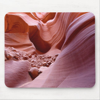 Lights and rocks in the canyon mouse pad