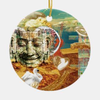 lights ceramic ornament