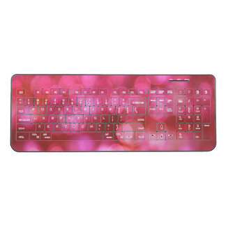 Lights colors wireless keyboard