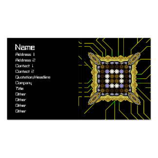 Lights Grid Business Cards