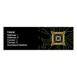 Lights Grid Mini Business Card