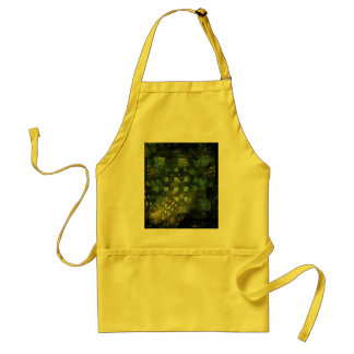 Lights in the City Abstract Art Apron
