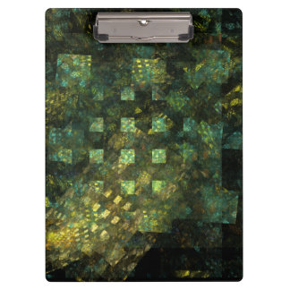 Lights in the City Abstract Art Clipboard