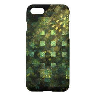 Lights in the City Abstract Art Matte iPhone 7 Case