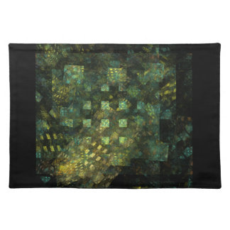 Lights in the City Abstract Art Placemat