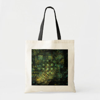 Lights in the City Abstract Art Tote Bag